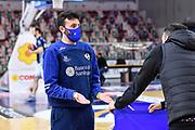 Edoardo Casalone<br /> Banco di Sardegna Dinamo Sassari - Vanoli Cremona<br /> Legabasket LBA Serie A UnipolSai 2020-2021<br /> Sassari, 28/03/2021<br /> Foto L.Canu / Ciamillo-Castoria