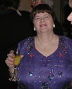 Anne Widdicombe. The British Book Awards. Hilton, London. 22 February 2001. © Copyright Photograph by Dafydd Jones 66 Stockwell Park Rd. London SW9 0DA Tel 020 7733 0108 www.dafjones.com