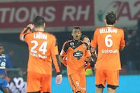Fotball<br /> Frankrike<br /> Foto: Panoramic/Digitalsport<br /> NORWAY ONLY<br /> <br /> joie Jordan Ayew apres son but (Lorient)