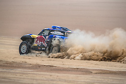 Carlos Sainz (ESP) of X-raid Mini JCW Team races during stage 4 of Rally Dakar 2019 from Arequipa to Tacna, Peru on January 10, 2019. // Flavien Duhamel/Red Bull Content Pool // AP-1Y3A5MXF12111 // Usage for editorial use only // Please go to www.redbullcontentpool.com for further information. //