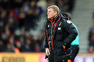 AFC Bournemouth manager Eddie Howe on the touchline during the Premier League match between Bournemouth and Arsenal at the Vitality Stadium, Bournemouth, England on 3 January 2017. Photo by Graham Hunt.