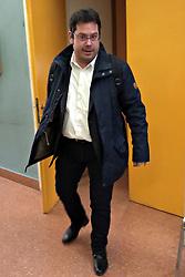 UDIENZA PROCESSO POLIGONO PORTOMAGGIORE NICOLA MINARELLINICOLA MINARELLI ESCE DALL'AULA<br /> UDIENZA PROCESSO POLIGONO PORTOMAGGIORE NICOLA MINARELLI