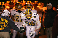 Wilmington's Matt Wagner is introduced to the crowd before the Greyhounds game against Bishop McCort in the 2007 PIAA state quarter finals.