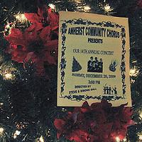 12.20.09 Amherst Community Chorus Christmas Concert