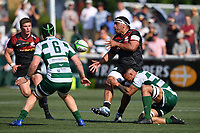 Rugby Union - 2021 Green King IPA Championship - Final, 1st leg - Ealing Trailfinders vs Saracens - Trailfinders Sports Ground<br /> <br /> Saracens' Mako Vunipola in action during this afternoon's game.<br /> <br /> COLORSPORT/ASHLEY WESTERN
