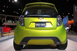 11 February 2009: Chevrolet Beat Concept.  The Beat is a front-wheel-drive, three-door hatchback concept built to be personalized, and powered by a 1.2-liter turbocharged gasoline engine mated to an automatic transmission. It's loaded with technology, including a navigation system and premium stereo. The Chicago Auto Show is a charity event of the Chicago Automobile Trade Association (CATA) and is held annually at McCormick Place in Chicago Illinois.