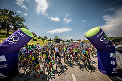 Start during 1st Stage of 27th Tour of Slovenia 2021 cycling race between Ptuj and Rogaska Slatina (151,5 km), on June 9, 2021 in Slovenia. Photo by Vid Ponikvar / Sportida