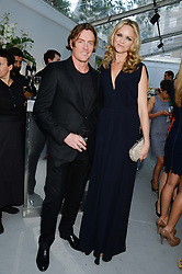 ANNA LOUISE PLOWMAN and TOBY STEPHENS at the Glamour Women of the Year Awards in association with Pandora held in Berkeley Square Gardens, London on 4th June 2013.