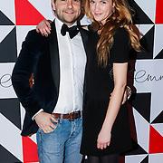 NLD/Amsterdam/20130322- Emma Fund Rasing avond 2013, Mike Meijer en partner Marly van der Velden