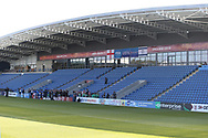 Main stand bearing uefa logo during the UEFA European Under 17 Championship 2018 match between England and Israel at Proact Stadium, Whittington Moor, United Kingdom on 4 May 2018. Picture by Mick Haynes.