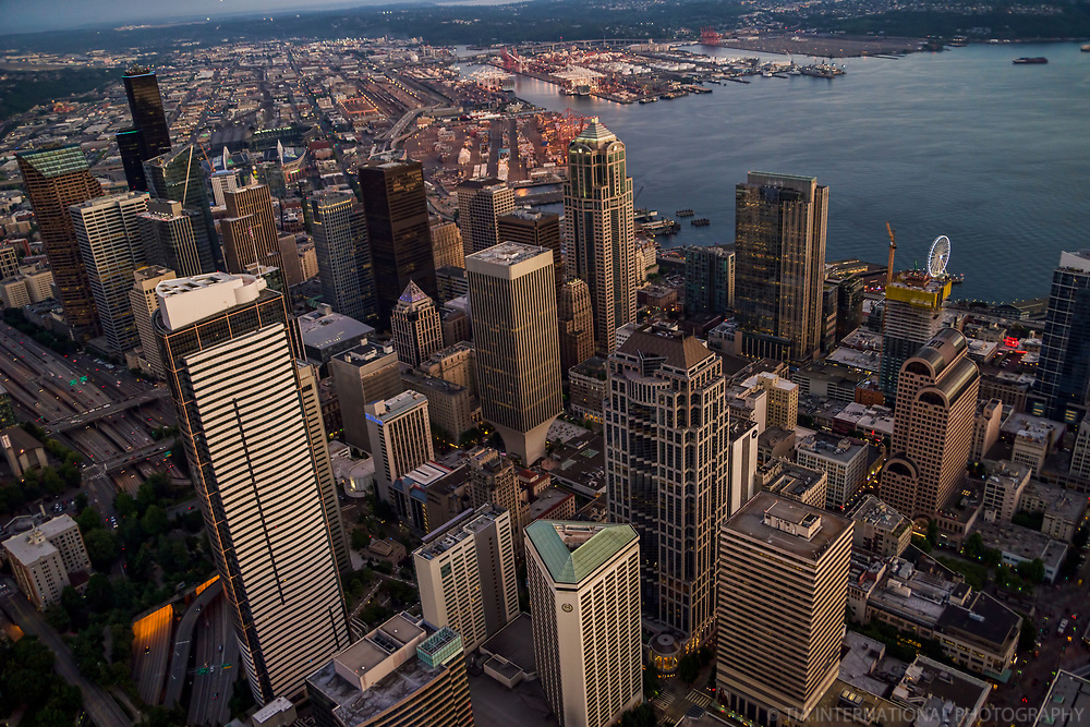 Downtown Seattle & Elliott Bay
