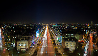 Paris - the city of lights - truly shines at night.  Long exposure night shots in Paris.