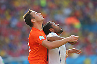 Stefan de Vrij of Netherlands and Jean Beausejour of Chile