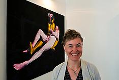 Kirsty Whiton exhibition opens, Edinburgh, 8 June 2018