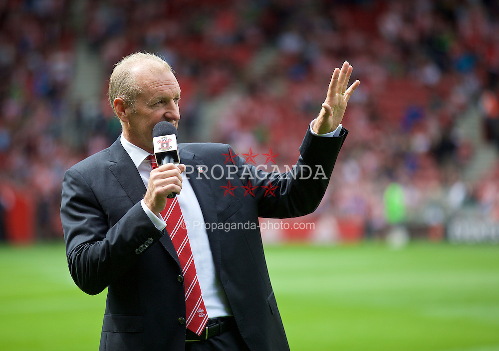 SOUTHAMPTON, ENGLAND - Saturday, August 15, 2015: Southampton's chairman Ralph Krueger before the FA Premier League match against Everton at St Mary's Stadium. (Pic by David Rawcliffe/Propaganda)