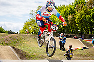 #74 (ADMAKINA Svetlana) RUS at Round 4 of the 2019 UCI BMX Supercross World Cup in Papendal, The Netherlands