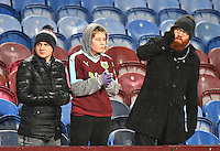 Burnley fans<br /> <br /> Photographer /Dave HowarthCameraSport<br /> <br /> The Premier League - Burnley v Leicester City - Tuesday 31st January 2017 - Turf Moor - Burnley<br /> <br /> World Copyright © 2017 CameraSport. All rights reserved. 43 Linden Ave. Countesthorpe. Leicester. England. LE8 5PG - Tel: +44 (0) 116 277 4147 - admin@camerasport.com - www.camerasport.com<br /> <br /> Photographer /Dave HowarthCameraSport<br /> <br /> The Premier League - Burnley v Leicester City - Tuesday 31st January 2017 - Turf Moor - Burnley<br /> <br /> World Copyright © 2017 CameraSport. All rights reserved. 43 Linden Ave. Countesthorpe. Leicester. England. LE8 5PG - Tel: +44 (0) 116 277 4147 - admin@camerasport.com - www.camerasport.com