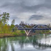 Caveman Bridge - Rogue River - Grants Pass, Oregon - HDR