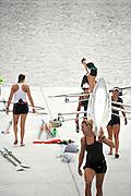 Chungju, South Korea. 2013 FISA World Rowing Championships, General Views of the  Tangeum Lake International Regatta Course. 08:42:54  Saturday  24/08/2013 [Mandatory Credit. Peter Spurrier/Intersport Images]
