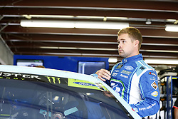September 22, 2017 - Loudon, New Hampshire, United States of America - September 22, 2017 - Loudon, New Hampshire, USA: Ricky Stenhouse Jr (17) hangs out in the garage during practice for the ISM Connect 300 at New Hampshire Motor Speedway in Loudon, New Hampshire. (Credit Image: © Justin R. Noe Asp Inc/ASP via ZUMA Wire)