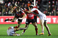Drew MITCHELL / Deon FOURIE - 20.12.2014 - Toulon / Lyon OU - 13eme journee de Top 14 -<br />Photo : Jean Christophe Magnenet / Icon Sport