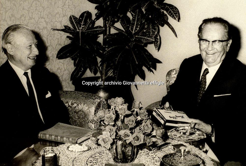 Frederick William Deakin, Tito Josip Broz<br />archivio Giovannetti/effigie