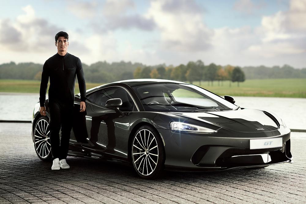 Shot on location at McLaren headquarters.