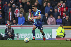 March 9, 2019 - High Wycombe, Buckinghamshire, United Kingdom - Wycombe captain Matt Bloomfield on the ball on his 500th club appearance during the Sky Bet League 1 match between Wycombe Wanderers and Sunderland at Adams Park, High Wycombe, England  on Saturday 9th March 2019. (Credit Image: © Mi News/NurPhoto via ZUMA Press)