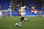 Tranmere Rovers' Jean-Louis Akpa Akpro in action. Skybet football league 1 match, Tranmere Rovers v Carlisle United at Prenton Park in Birkenhead, England on Saturday 29th March 2014.<br /> pic by Chris Stading, Andrew Orchard sports photography.