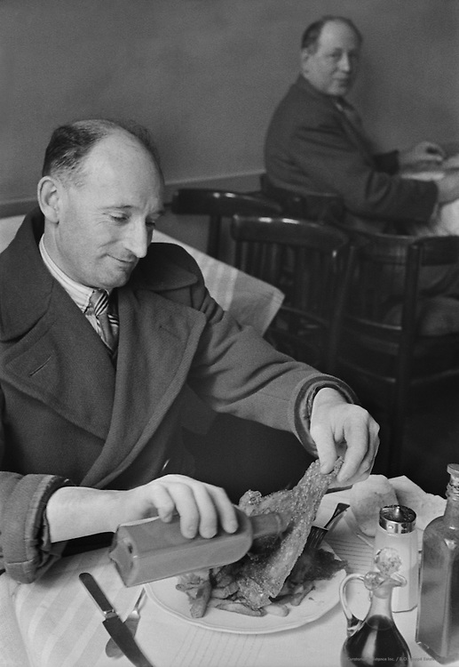 Fish and Chips; London; 1945
