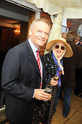 LORD ARCHER and author MARY KENNY at the Spectator Summer Party held at 22 Old Queen Street, London SW1 on 3rd July 2008.<br /><br />NON EXCLUSIVE - WORLD RIGHTS