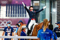 Dujardin Charlotte, GBR, Gio, 133<br /> Olympic Games Tokyo 2021<br /> © Hippo Foto - Stefan Lafrentz<br /> 28/07/2021