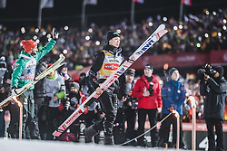 30.12.2018, Schattenbergschanze, Oberstdorf, GER, FIS Weltcup Skisprung, Vierschanzentournee, Oberstdorf, Siegerehrung, im Bild Sieger Ryoyu Kobayashi (JPN) // Winner Ryoyu Kobayashi of Japan during the winner Ceremony for the Four Hills Tournament of FIS Ski Jumping World Cup at the Schattenbergschanze in Oberstdorf, Germany on 2018/12/30. EXPA Pictures © 2018, PhotoCredit: EXPA/ JFK