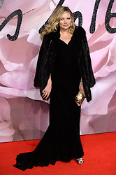 Kate Moss attending The Fashion Awards 2016 at The Royal Albert Hall in London. <br /> <br /> Picture Credit Should Read: Doug Peters/ EMPICS Entertainment