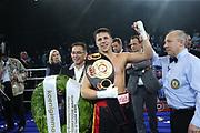 Boxen: Blitz & Donner,Supermittelgweicht, WBA Weltmeristeschaft, Hamburg, 24.03.2018<br /> Tyron Zeuge (GER) - Isaac Ekpo (NIG)<br /> © Torsten Helmke