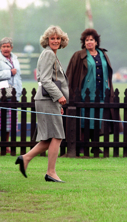 CAMILLA PARKER-BOWLES AT SMITH'S LAWN,<br /> WINDSOR.