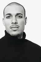 Portrait of Bryan Guy, a model in Seattle, Washington.
