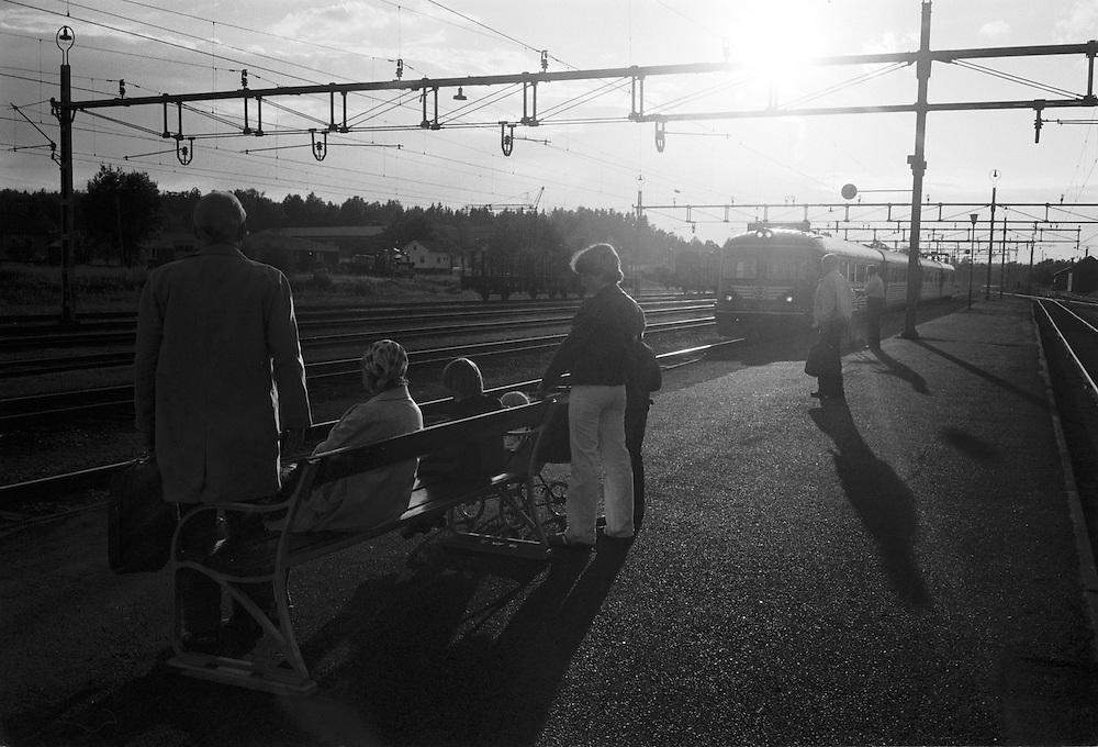 Smedjebacken på järnvägen mot Ludvika