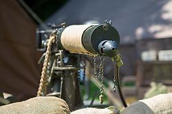 Sledmere House Nostalgia weekend British .303  Water Cooled Vickers Machinegun<br />  25&26 June 2016<br />  Copyright Paul David Drabble<br />  www.pauldaviddrabble.photoshelter.comom