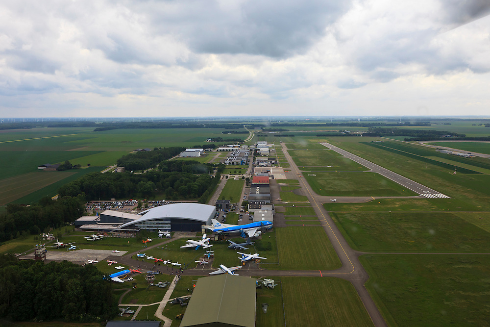Nederland, Flevoland, Lelystad, 22-05-2011;.Vliegveld Lelystad. Airport Lelystad..luchtfoto (toeslag), aerial photo (additional fee required).foto/photo Siebe Swart