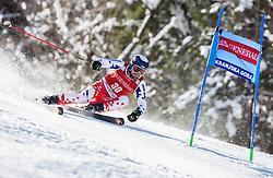 Krystof Kryzl (CZE) competes during 9th Men's Giant Slalom race of FIS Alpine Ski World Cup 55th Vitranc Cup 2016, on March 4, 2016 in Kranjska Gora, Slovenia. Photo by Vid Ponikvar / Sportida
