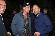 DOUGIE WALLACE; CRAIG ATKINSON, Opening of the Martin Parr Foundation party,  Martin Parr Foundation, 316 Paintworks, Bristol, BS4 3 EH  20 October 2017DOUGIE WALLACE;
