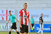 Jayden Stockley (11) of Exeter City during the EFL Sky Bet League 2 match between Exeter City and Lincoln City at St James' Park, Exeter, England on 17 May 2018. Picture by Graham Hunt.