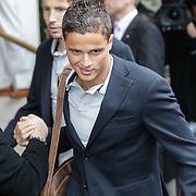 NLD/Amsterdam/20120604 - Vertrek Nederlands Elftal voor EK 2012, Ibrahim Afellay