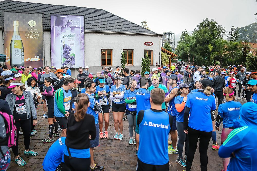 Caixa WineRun reuniu cerca de 1500 corredores de 17 estados do país, neste sábado (21/05), no Vale dos Vinhedos (RS). FOTO: Jefferson Bernardes/ Agência Preview