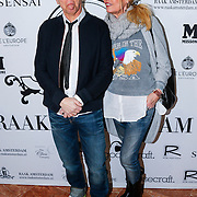 NLD/Amsterdam/20130325 - High Fashion Tea Jos Raak 2013, ouders Bridget Maasland