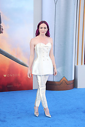 """Stars attend the """"Wonder Woman"""" world Premiere in Los Angeles. 25 May 2017 Pictured: Caity Lotz. Photo credit: IPA/MEGA TheMegaAgency.com +1 888 505 6342"""