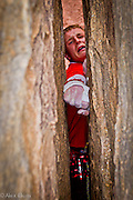 Pete Whittaker leading the 1st Ascent of Century Crack, 5.14b, the hardes offwidth in the world, Canyonlands, Utah