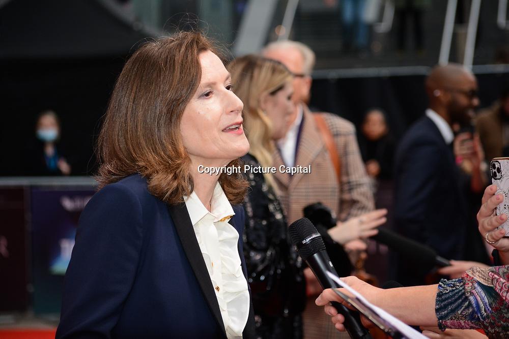 Joanna Hogg arrives at The Souvenir Part II - BFI London Film Festival 2021 at Southbank Centre, Royal Festival Hall, London, 8 October 2021.