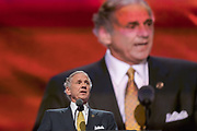 Lt. Gov. Henry McMaster of South Carolina  addresses delegates during the roll call on the second day of the Republican National Convention July 19, 2016 in Cleveland, Ohio. The delegates formally nominated Donald J. Trump for president after a state by state roll call.